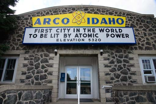 Arco Idaho first atomic city in the world