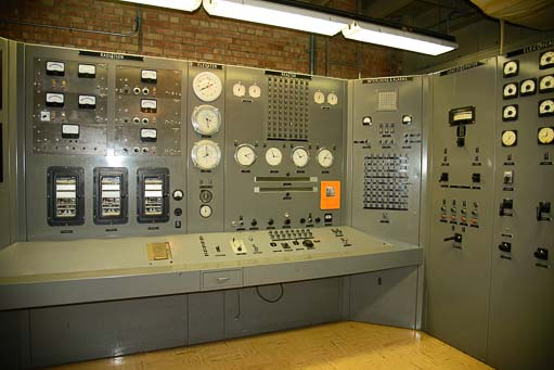 ERB-1 Nuclear Power Plant control room_