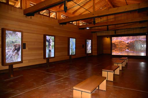 Laurence Rockefeller's audio-visual meditation room at Grand Teton
