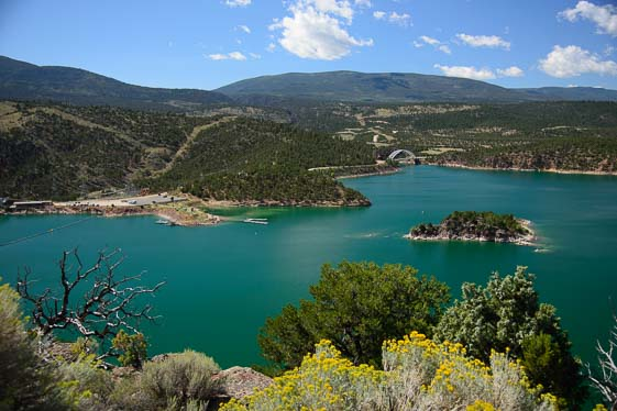 Green River at Flaming Gorge National Recreation Area