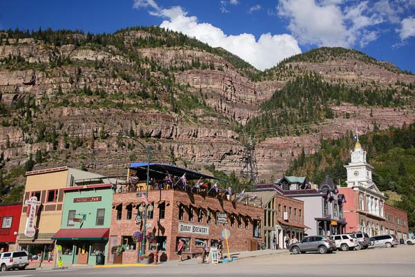 Ouray Colorado is a cute mountain town