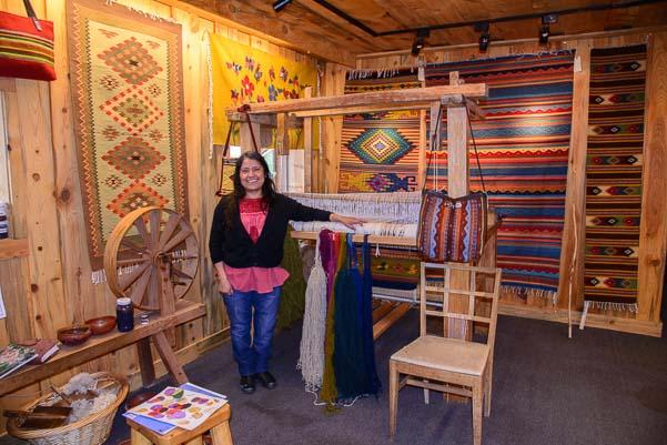 Teotitlan de Valle Oaxaca Rug Weavers