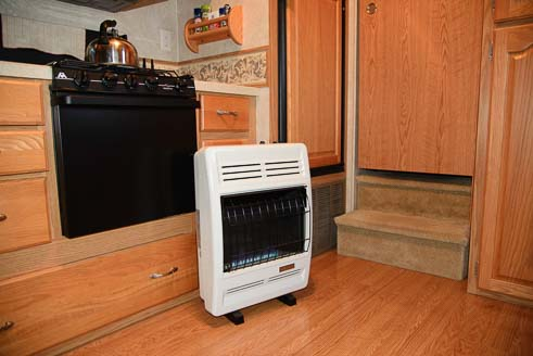 Rv Heater How To Install A Vent Free Propane Heater In An Rv