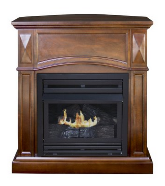 Pleasant Hearth Vent-Free Propane Fireplace 35 inch