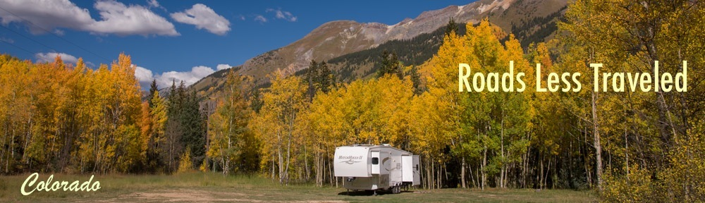 RV Travel and camping adventures in Colorado