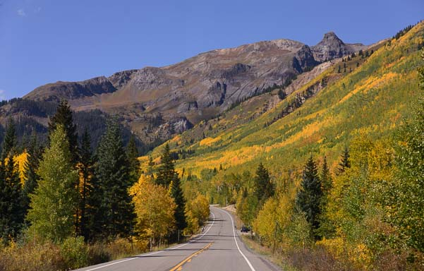 Red Mountain Pass near Ouray Colorado