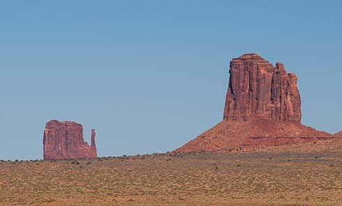 Monument Valley Mitten formations Arizona