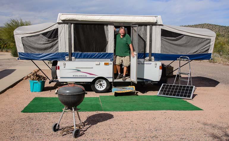 Fleetwood Colonial Popup tent trailer