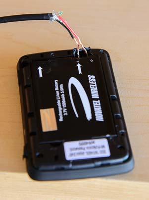 MiFi Jetpack Charger solder repair