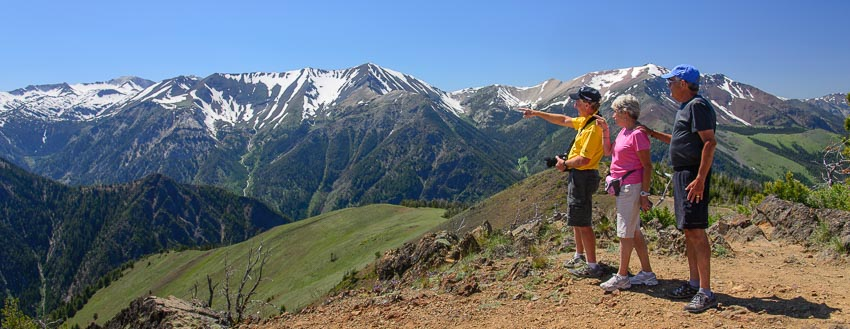 Hiking the Wallowa Mountains in Joseph Oregon