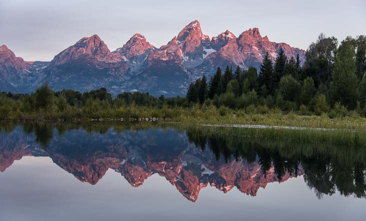 Mirrored magic in Grand Teton National Park Wyoming