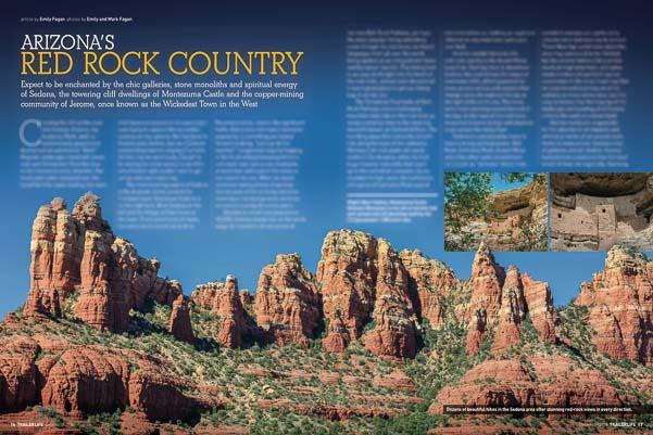 Sedona Arizona feature article Trailer Life Magazine