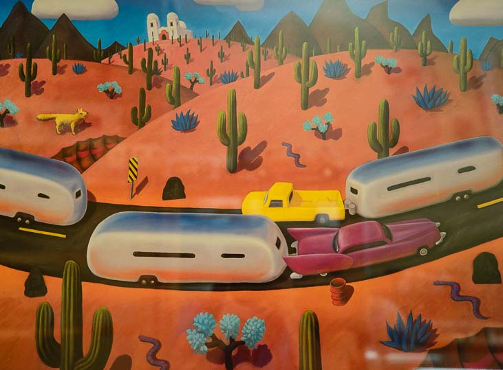 RV Art at RaVeS Cafe in Mesa Arizona