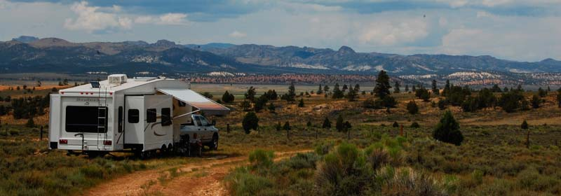 Free camping in Utah