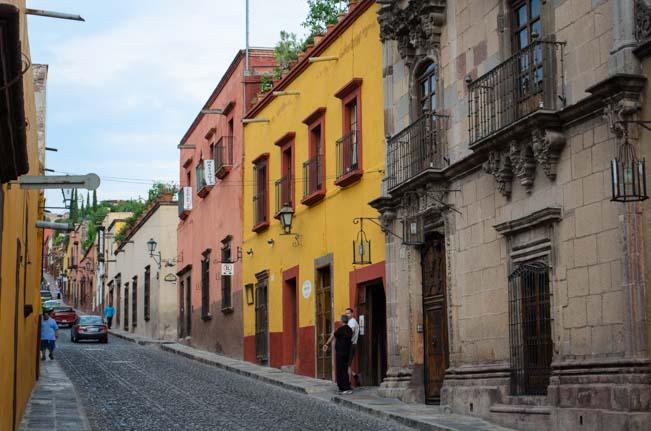 San Miguel de Allende Mexico Street Scenes