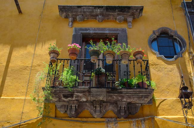 Mexico window flower box