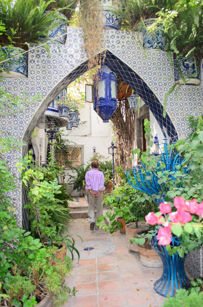 Toller Cranston leads us through his garden