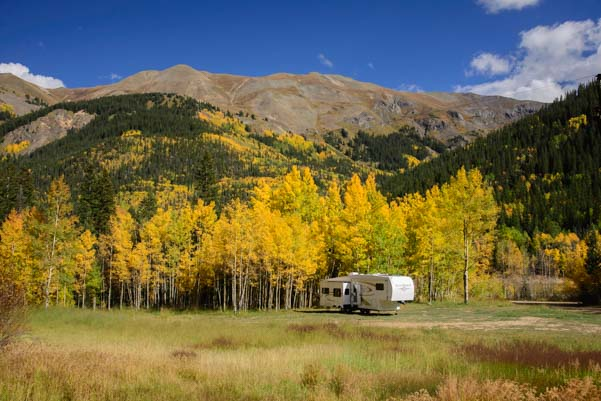 5th wheel trailer Boondocking in Colorado