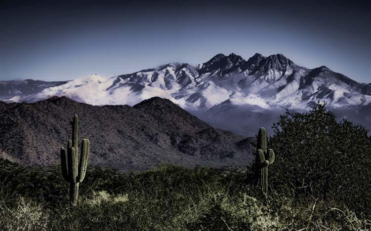 Himalayan Mountains in Arizona