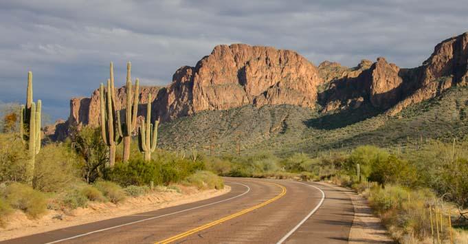 A Majestic Scenic Drive In Arizona The Bush Highway