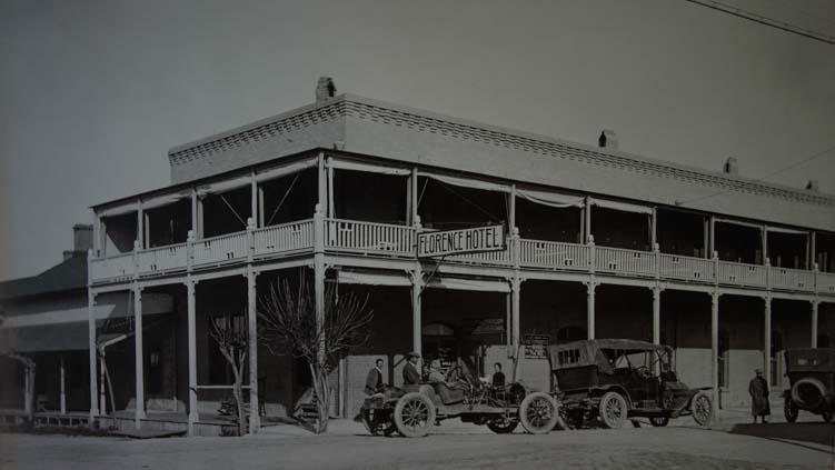 Arizona Florence Hotel 1910