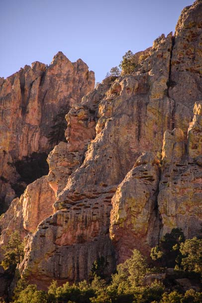 Chiricahua Mountains at Dawn in Arizona