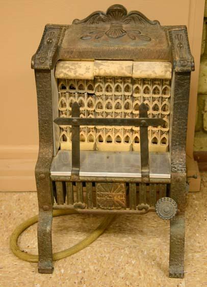 Antique gas heater