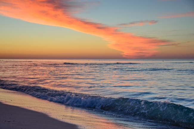 Sunrise at a Florida beach