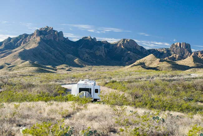 Big Bend National Park Texas RV boondocking_