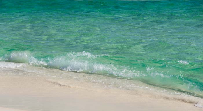 Emerald waves on Florida's Emerald Coast