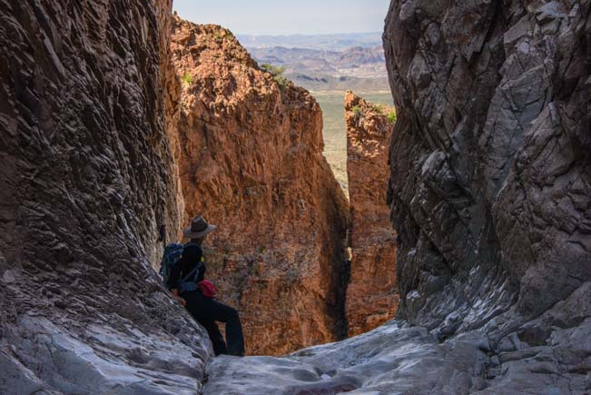 The Window on the Window Trail Hike in Big Bend