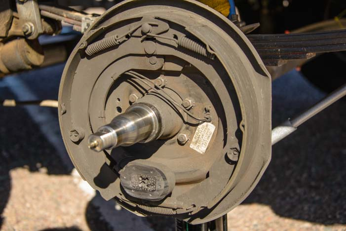 Trailer Disc Brake Conversion Electric Over Hydraulic