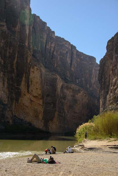 Santa Elena Canyon Big Bend National Park Texas