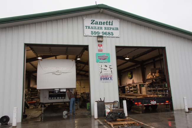 Trailer brake upgrade at Zanetti Trailer Repair
