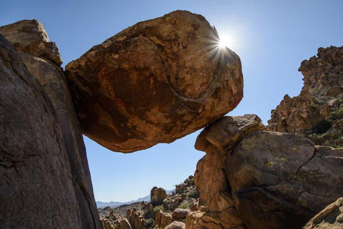 Balancing Rock Big Bend National Park Texas