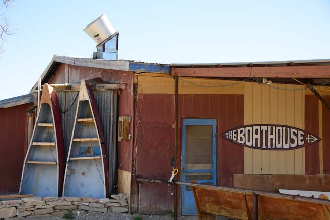 Boathouse in Terlingua Texas