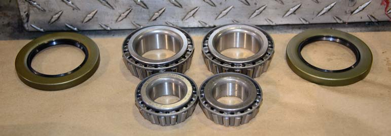 Wheel bearings for Kodiak trailer disc brakes