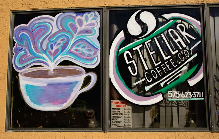 Stellar Coffee from outer space