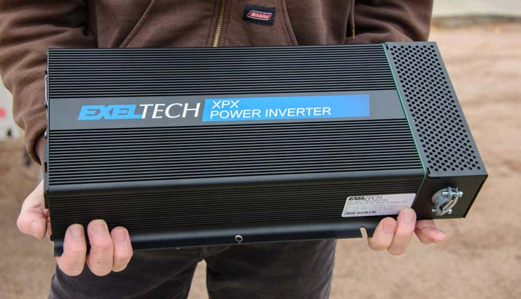 Exeltech XPX 2000 watt pure sine wave inverter