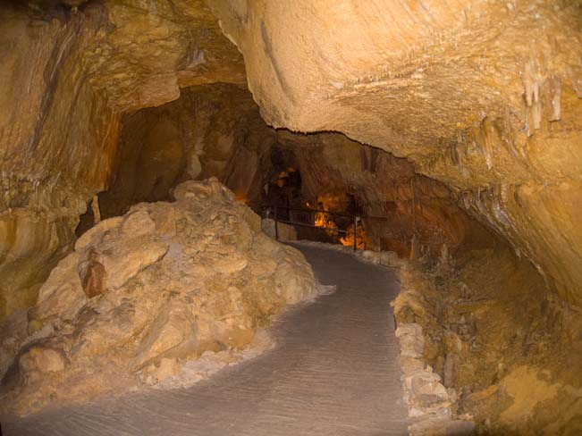 Cave Tour Sonora Texas