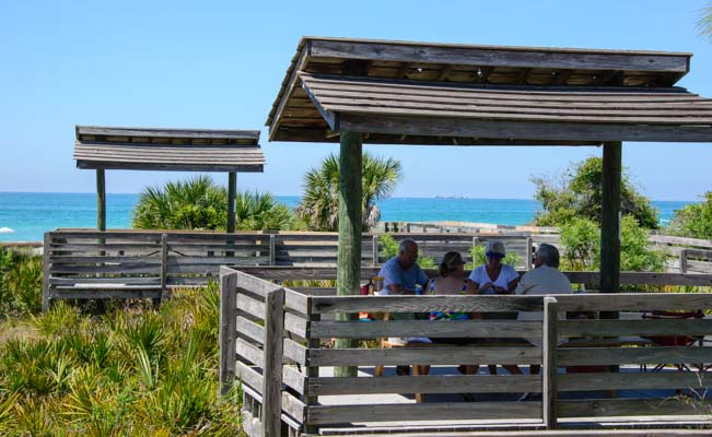 Picnic areas Venice Beach Florida