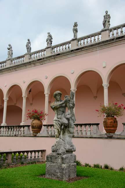 08 431 Garden statues Ringling Art Museum Courtyard Sarasota FLorida