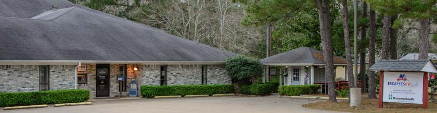Escapees RV Club Headquarters in Livingston Texas