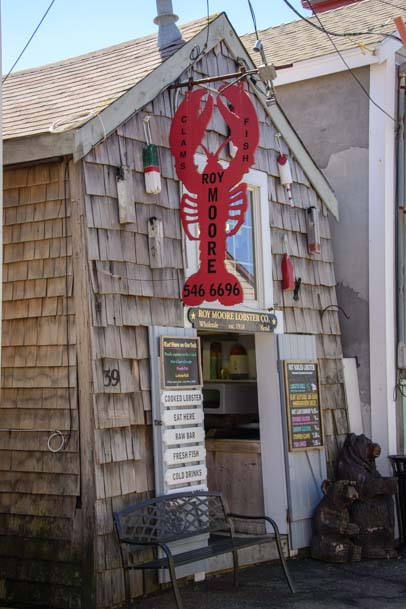 Roy Moore Lobster restaurant Bearskin Neck Rockport MA