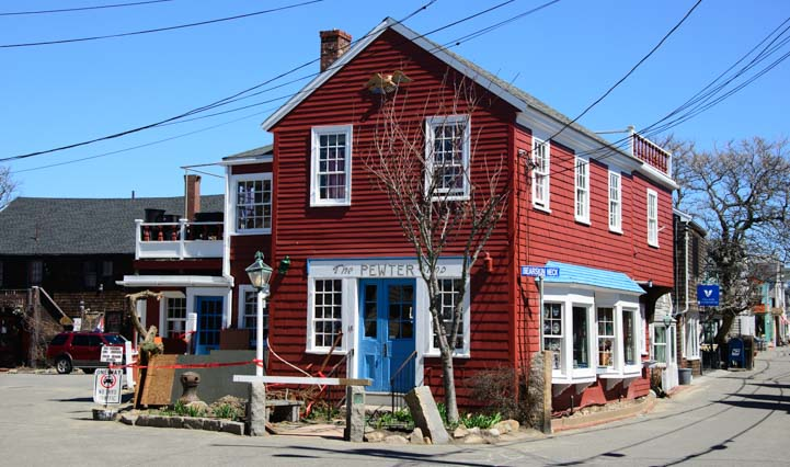 The Pewter Shop Bearskin Neck Rockport Massachusetts