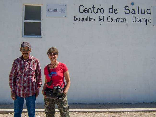 Mexican guide at Boquillas del Carmen