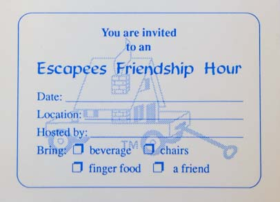 Escapees RV Club Friendship Hour Pad