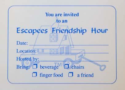 Escapees RV Club Friendship Hour Pad