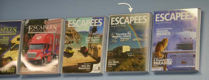 Escapees RV Club Magazine Covers
