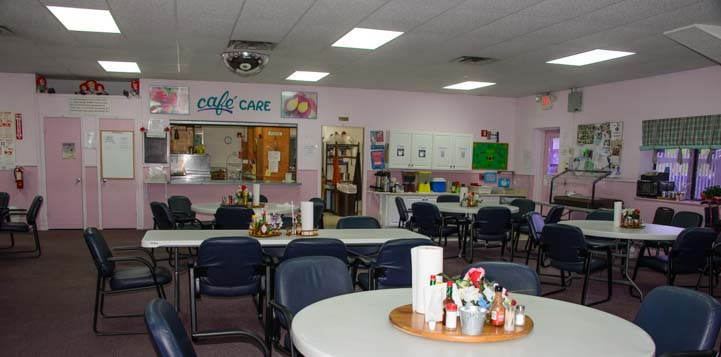 Dining Room Escapees Care Center Livingston Texas